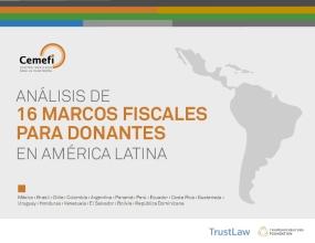 Análisis de 16 marcos fiscales para donantes en América Latina